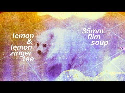 film soup | lemon juice & lemon zinger tea 🍊