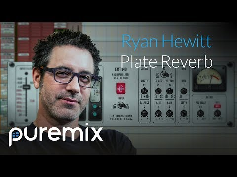 Plate Reverb On Vocals Explained. With Ryan Hewitt.