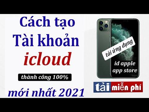 Cách tạo tài khoản icloud , id apple đơn giản mới nhất năm 2021.Tạo tài khoản Tải game trên iphone .