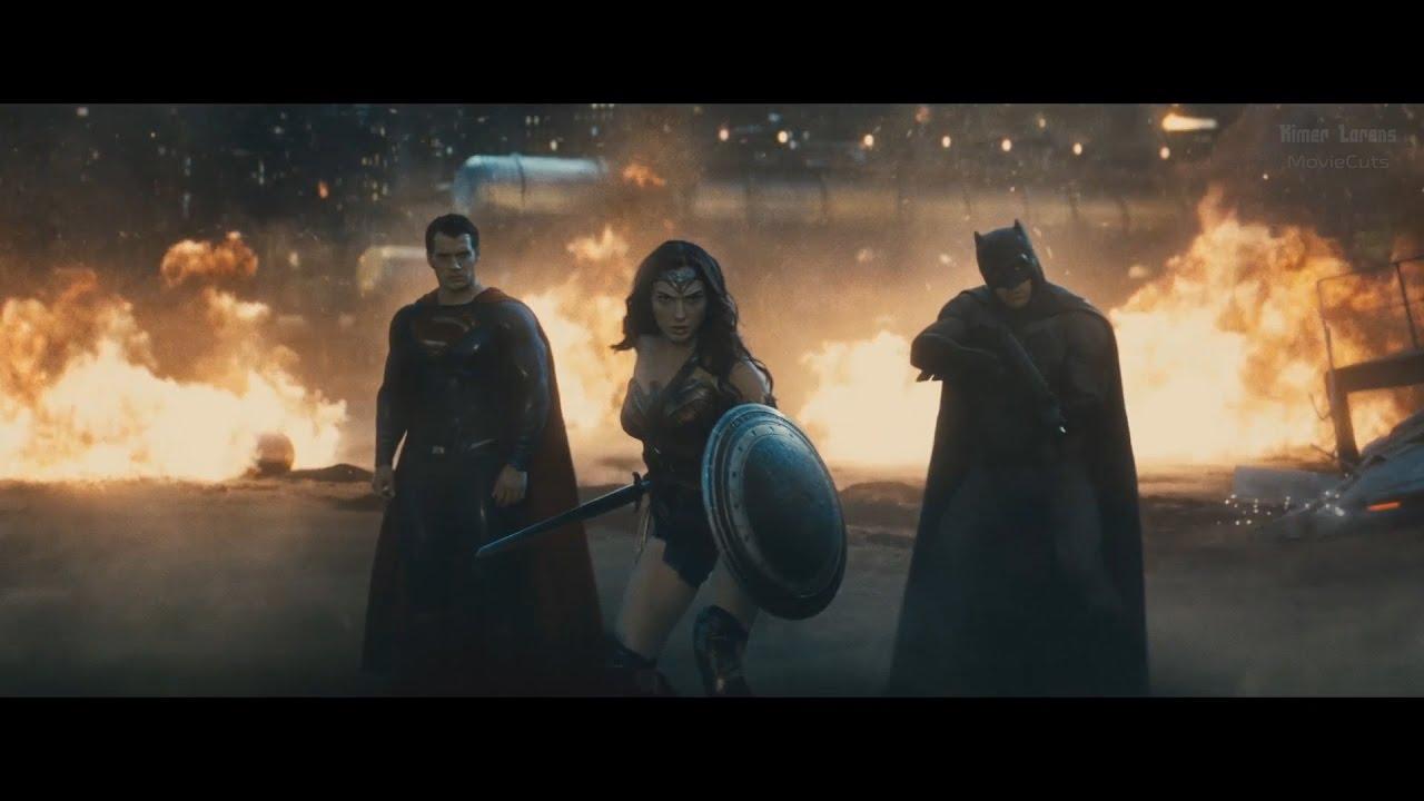 Batman vs Superman (2016) - Battle with Doomsday - Pure Action [1080p] -  YouTube