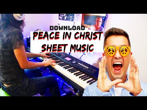 Peace In Christ sheet music - peace in christ 2018 lds mutual theme (from the sheet music)