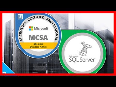 97% Off The MCSA SQL Server Certification Training Bundle   Online ...