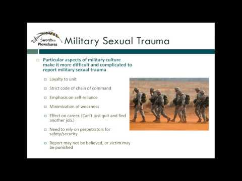 Benefits Series:  VA Service Connected Compensation for Survivors of Military Sexual