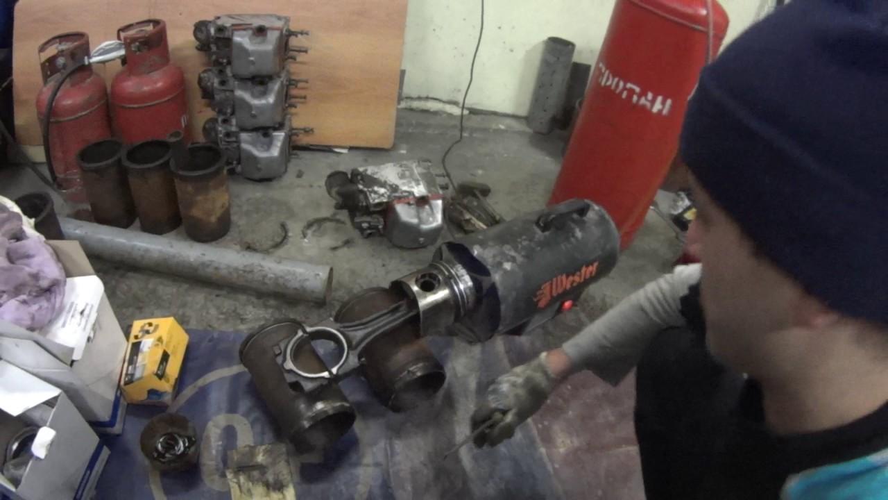 сборка мотора камаз видео