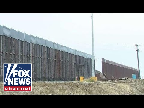14-mile border wall project complete in San Diego