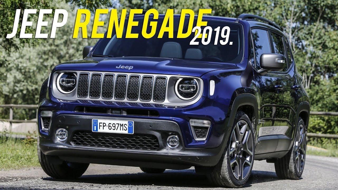 Novo Jeep Renegade 2019 Com Novidades Curiosidade Automotiva