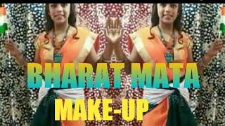 Bharat Mata Make - Up Look by Rinku Sharma