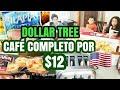 CAFÉ DA MANHÃ COMPLETO DO DOLLAR TREE