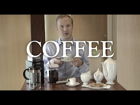 Coffee - it's a grind: the proper way to serve