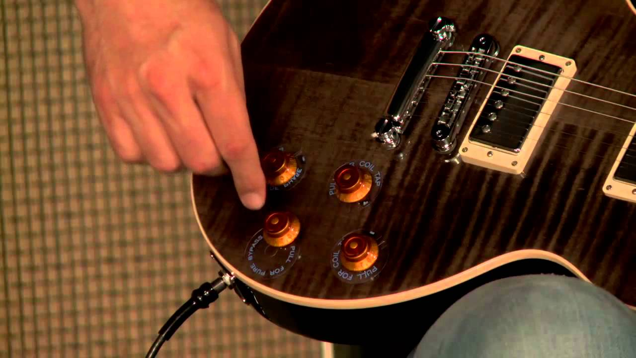 Gibson Les Paul Standard Plus Sn 114221328 Youtube Classic Electric Guitar Trans Ebony The Music