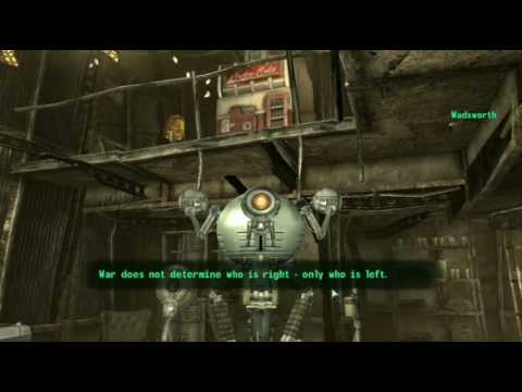 Fallout 3 - Wadsworth the Comedian