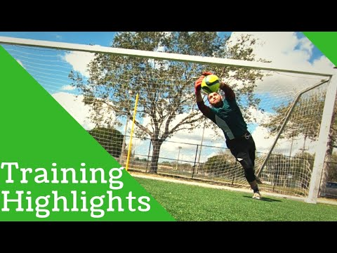Training Highlights Best Goalkeeper Saves And Goals!