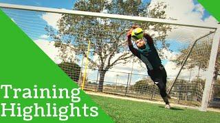 Training Highlights Best Goalkeeper Saves and Goals!