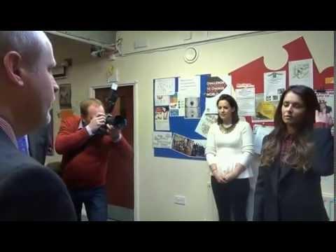 Cheryl Meets The Princes Trust!