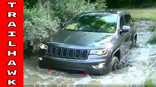 2017 Jeep Grand Cherokee Trailhawk Test Drive and Off Roading