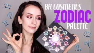 BEST EYESHADOW PALETTE?! BH COSMETICS ZODIAC PALETTE Tutorial + Review