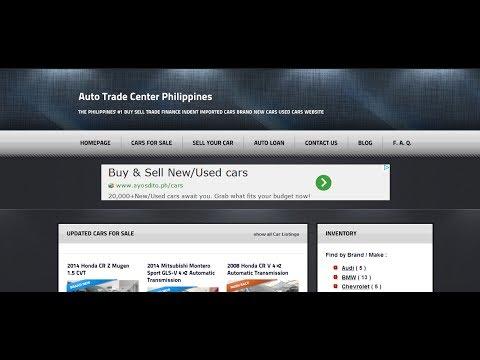 Sample Auto Loan Calculator at Auto Trade Center Philippines