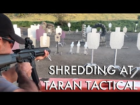 Robert Vogel Shredding at Taran Tactical TTI PCC Glock34