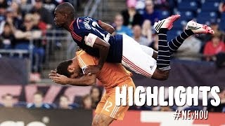 HIGHLIGHTS: New England Revolution vs. Houston Dynamo | April 12, 2014