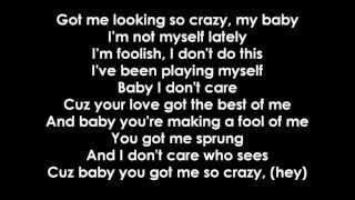 Beyoncé ft. Jay-Z - Crazy in love [Lyrics]