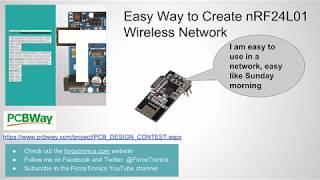 Easy Way to Create an nRF24L01 Wireless Sensor Network