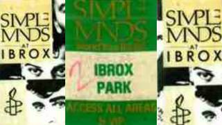 Simple Minds Live Ibrox Glasgow 1986