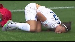 It hurts girls, too! (Female Nut Shots #13 女金蹴り/マン蹴り) - CLEATS to the groin