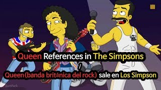 "Download ""Queen"" References in The Simpsons / ""Queen"" sale en Los Simpson"