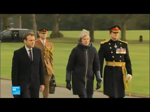 توقيع معاهدة بين فرنسا وبريطانيا لمراقبة المهاجرين على الحدود بين البلدين  - 10:22-2018 / 1 / 19