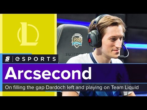 Arcsecond on filling the gap Dardoch left and playing on Team Liquid