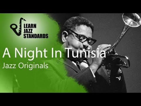 A Night In Tunisia-Dizzy Gillespie-play Along With Latin Groove.