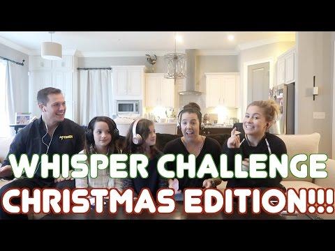 Whisper Challenge Telephone Game Pt 2! Bratayley | Shawn Johnson