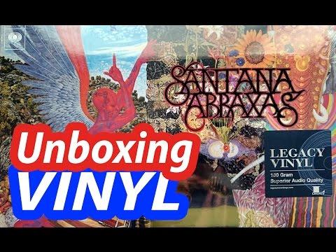 Unboxing Abraxas   SANTANA #vinyl 2016 reedition @SantanaCarlos