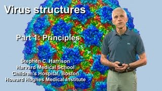 Stephen Harrison (Harvard) Part 1: Virus structures: General principles