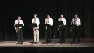 Opus in Pastels: Pine-Richland High School Saxophone Ensemble