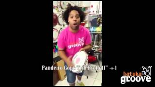 Batuka Groove Instrumentos Musicais - Pandeiro Gope 11