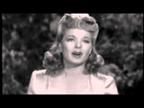Frances Langford  Good night wherever you are
