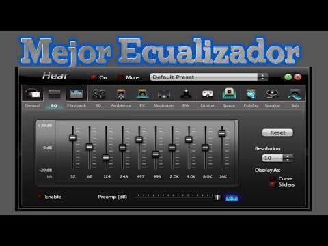 Hear Ecualizador de Sonido y Música | Efectos Especiales de Sonido Mejor Ecualizador para Pc