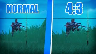 HOW to CHANGE the resolution of FORTNITE (STRETCHED) without 4:3 PROGRAMS