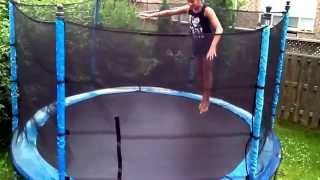 Tricks on trampoline Thumbnail
