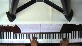米津玄師さんの 「サンタマリア」 ピアノアレンジです。久々の天井撮影。