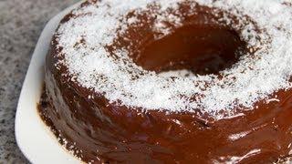 طريقة عمل كيك الشوكولاته بجوز الهند