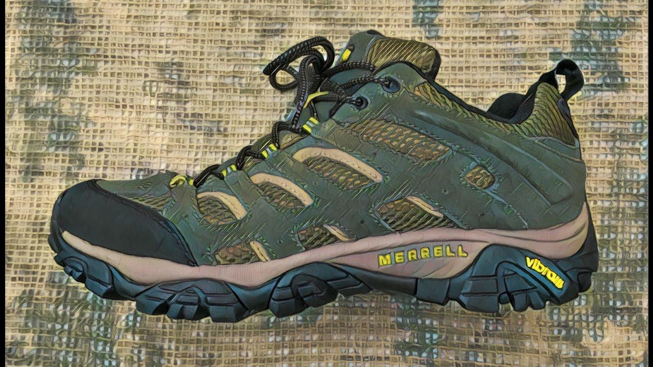 Видео обзор кроссовок для хайкинга Moab Ventilator от