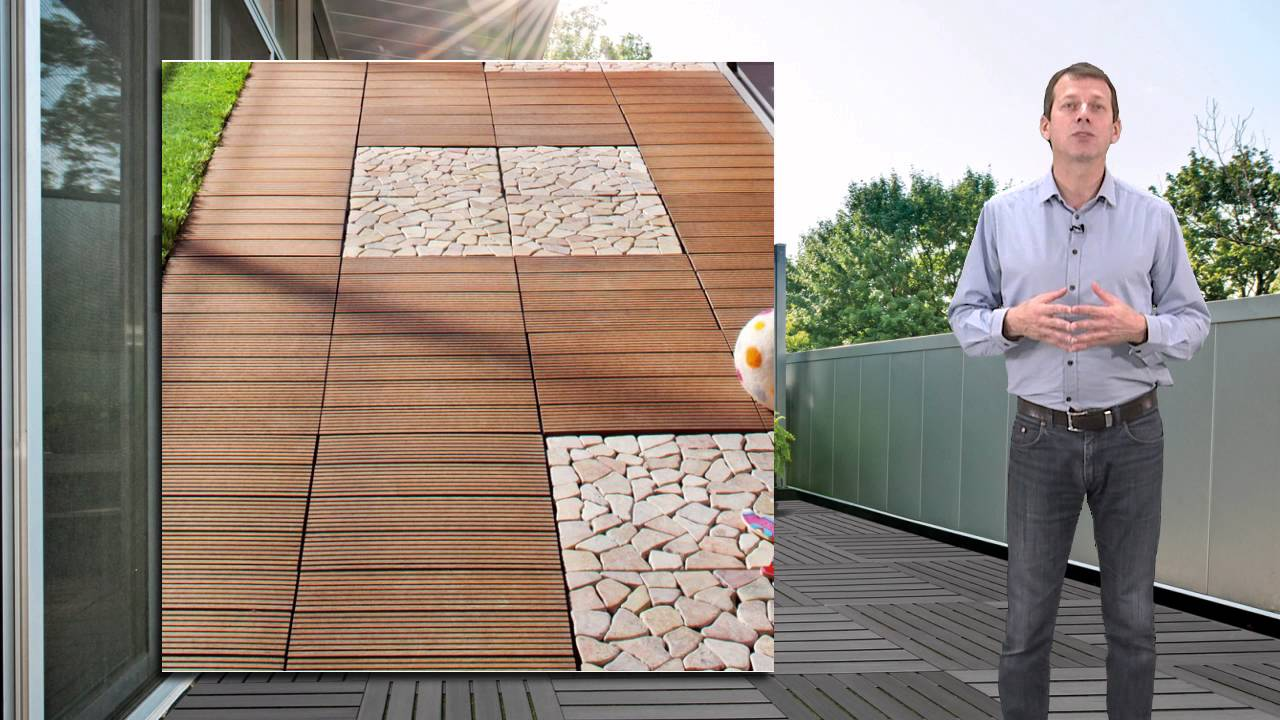 Dalle Composite Terrasse Et Jardin Youtube