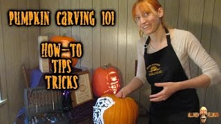 Pumpkin Carving 101 - Tips!! Tricks!! How-To!!