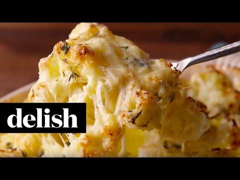 Cheesy Cauliflower Bake | Delish