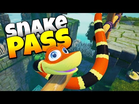 Snake Pass - Cutest Danger Noodle Ever! - Let's Play Snake Pass Gameplay