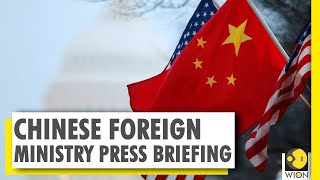 China accuses United States of cold war rhetoric | China-US conflict | World News