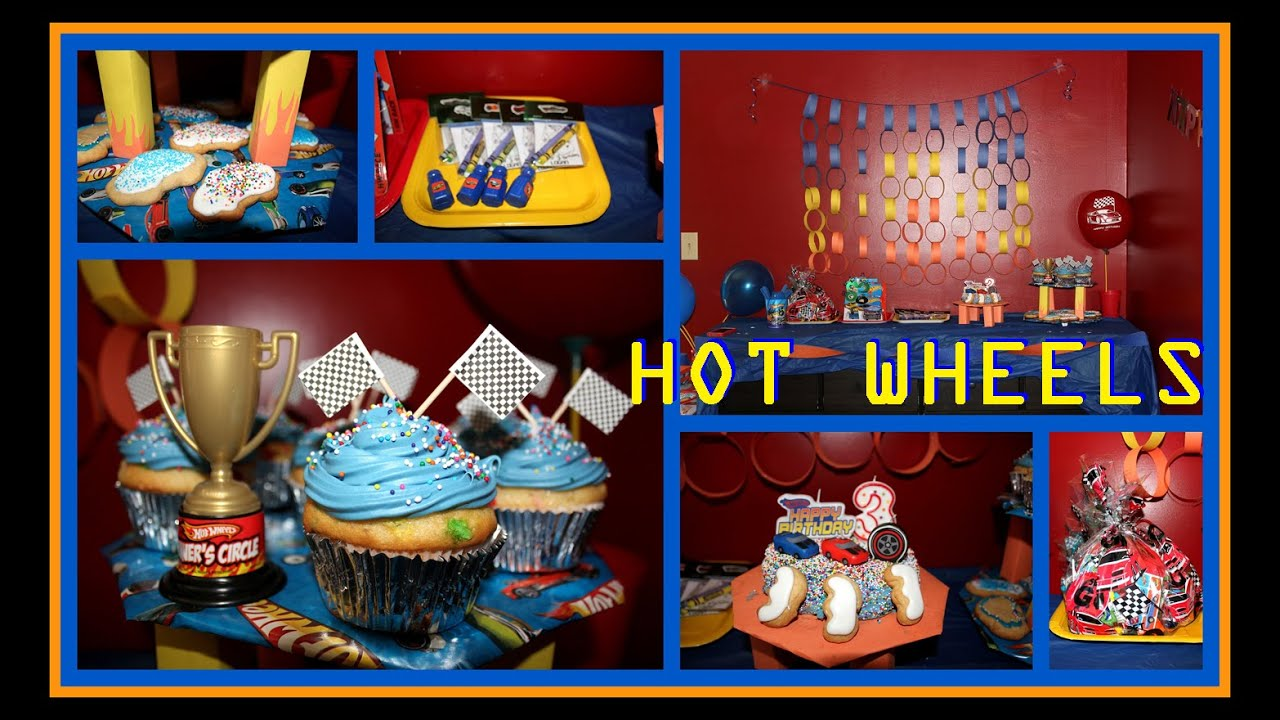 Diy Hot Wheels Party Decorations Unique Birthday Party Ideas And