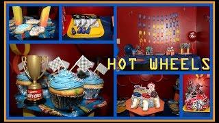 Hot Wheels Party - Ideas and DIY Lookbook